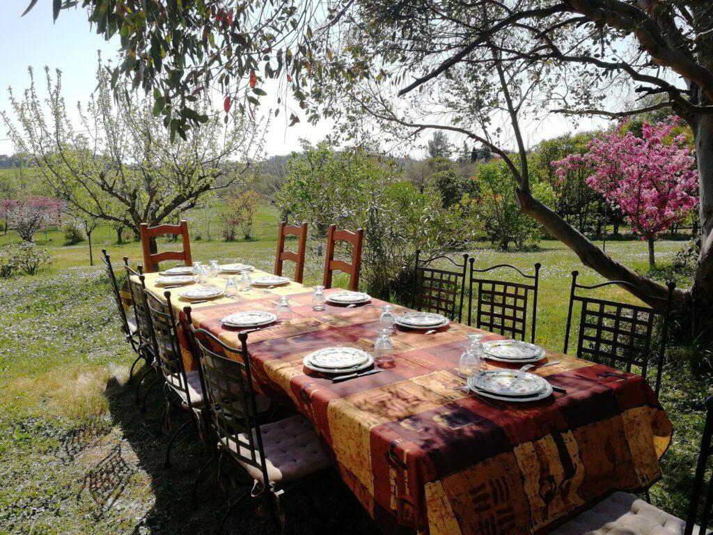 Table d'hôtes dans le Gard